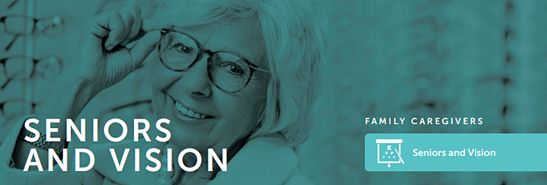 Seniors with Vision Loss and How Caregivers Can Help!