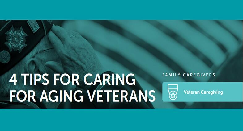 4 Tips for Caring for Aging Veterans