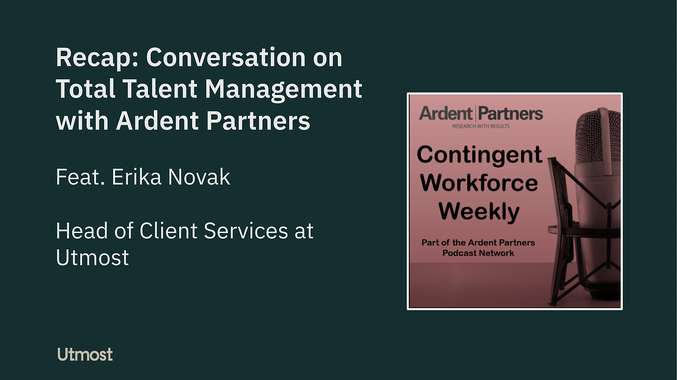 Conversation on Total Talent Management with Ardent Partners
