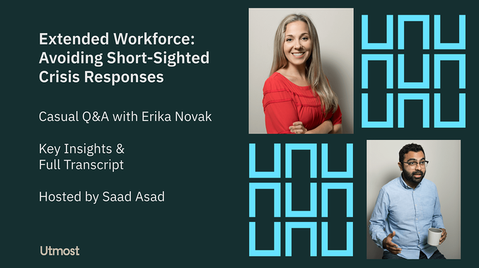 [Video] - Avoiding Short-Sighted Crisis Responses with Your Contingent Workforce