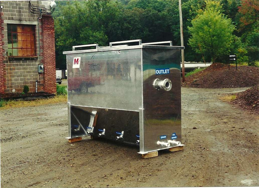Above Ground Oil Water Separators 50gpm 100gpm