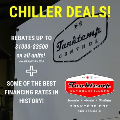 Chiller Deals