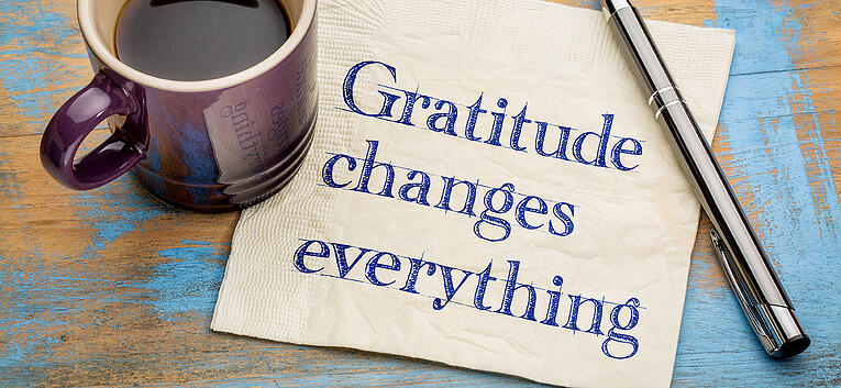 Gratitude Is Good for Your Health