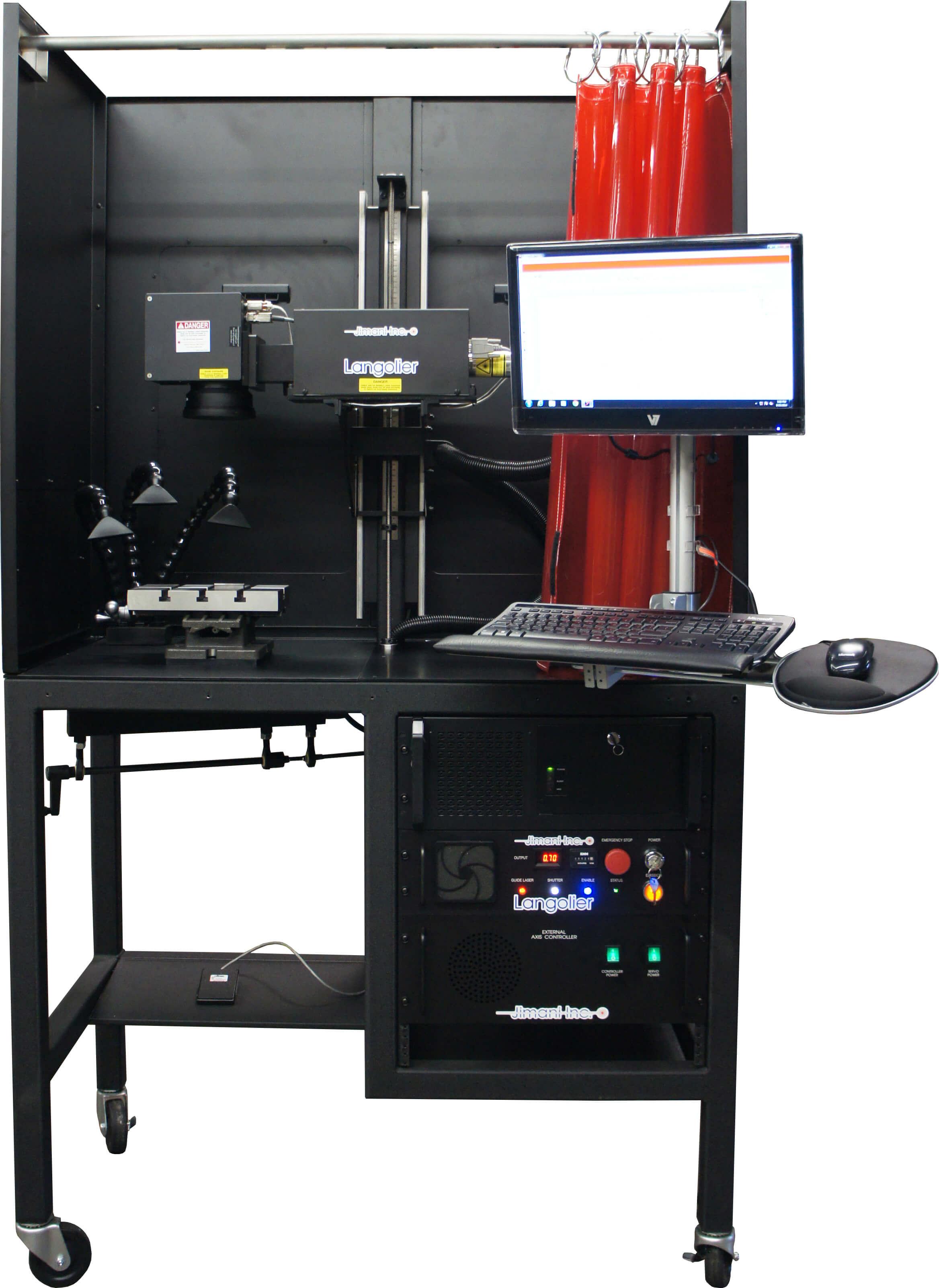 custom-fiber-laser-marking-system