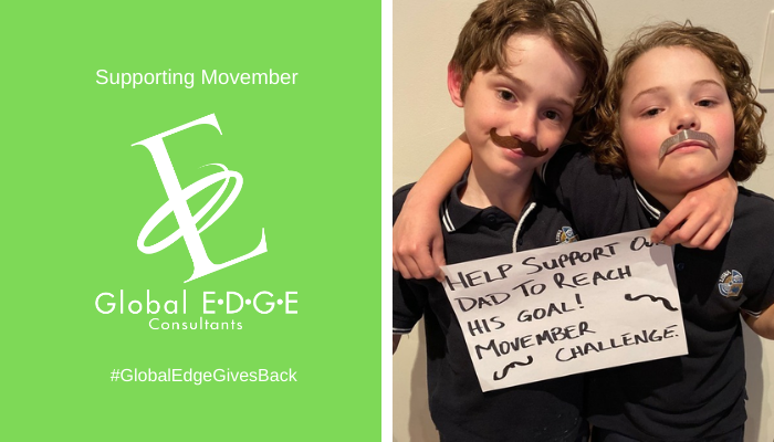 Global Edge Gives Back: Supporting Movember