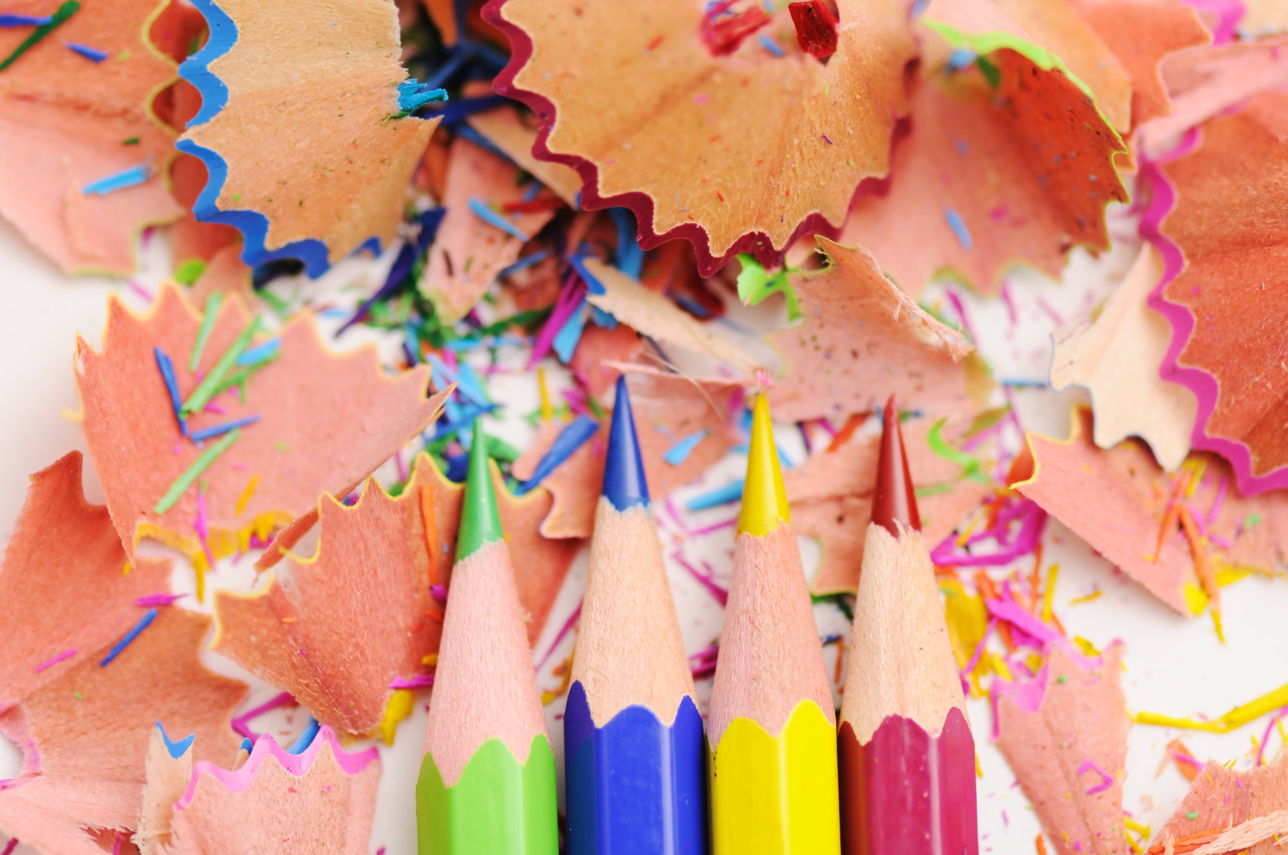 Colored Pencils in an Article About Grants for the Arts Including NEA Funding