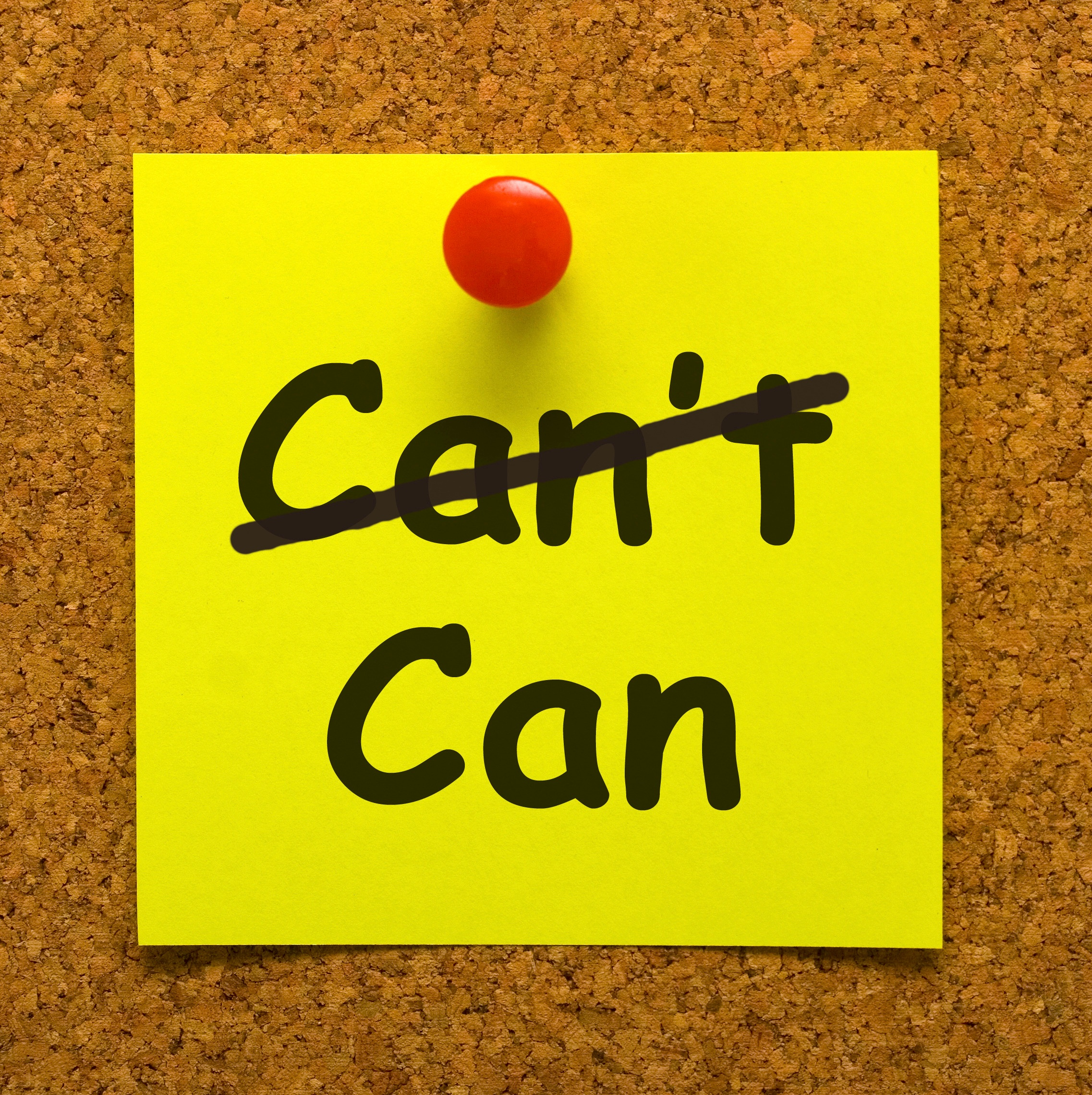 Post It Note in an Article About Grant Writing Paralysis and Fear of Rejection