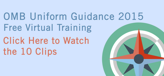 eCivis Uniform Guidance Training March 2015