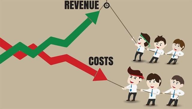 An administrator's dilemma: Minimize cost or maximize revenue