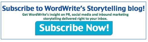 Subscribe to WordWrite's Storytelling blog!