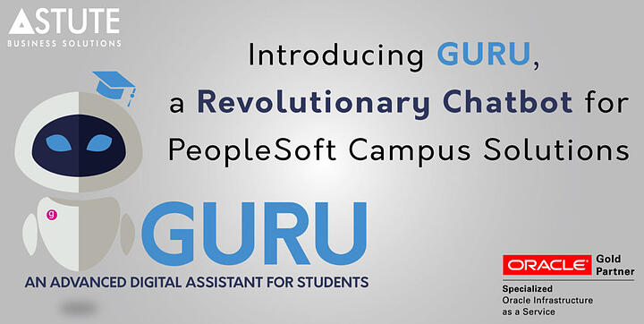 Guru - A chatbot for students built with Oracle Digital Assistant