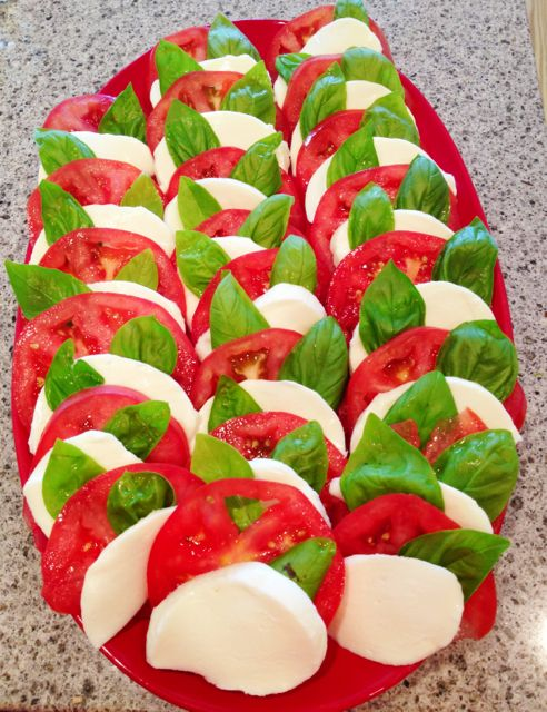 Caprese salad has to be my favorite summer time dish.