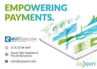 PayXpert will be at eShow Barcelona 2018!