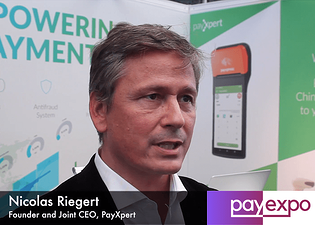 Nicolas Riegert, PayXpert CEO interview in PayExpo 2018