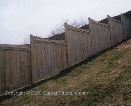 Can I Install A Residential Fence On A Hilly Area