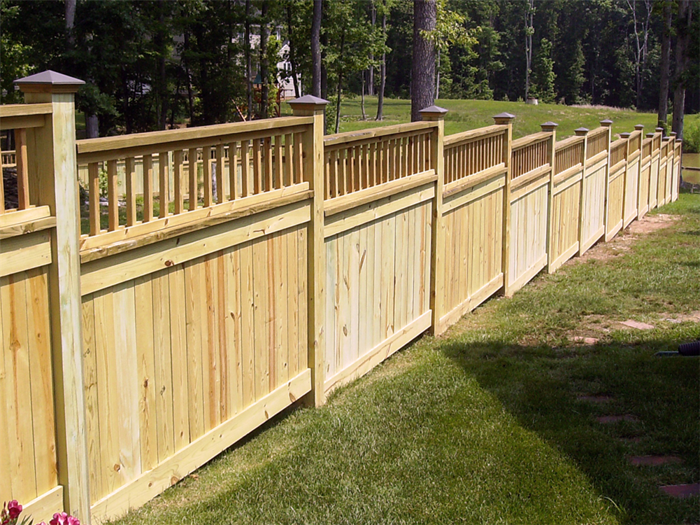 Wood Fence Hurricane Fence Company