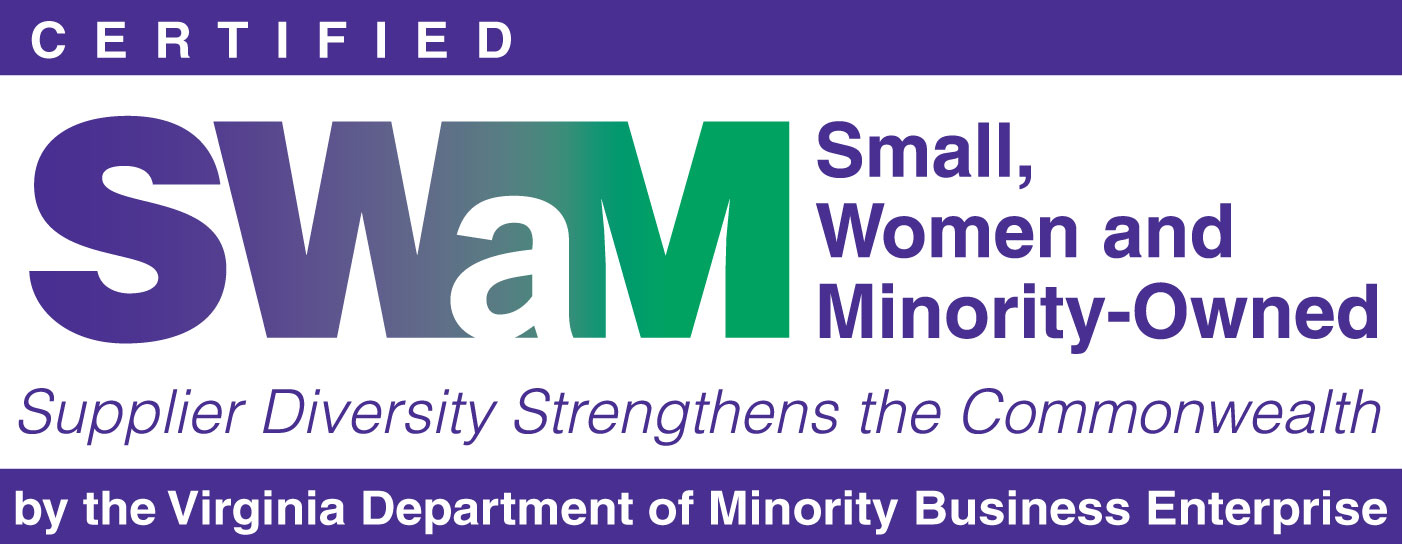 Certified Small Women and Minority owndes business logo Virginia