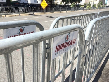 Hurricane Fence Co.  installs barricades and bike racks for UCI Richmond 2015 Championship