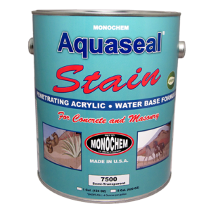 Penetrating, Water-Base Acrylic Concrete Stain