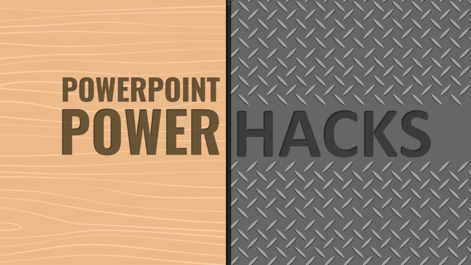 PowerPoint PowerHack #7 - Replacing Fonts