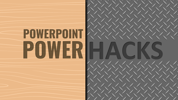 PowerPoint PowerHack #5 - Removing White Backgrounds