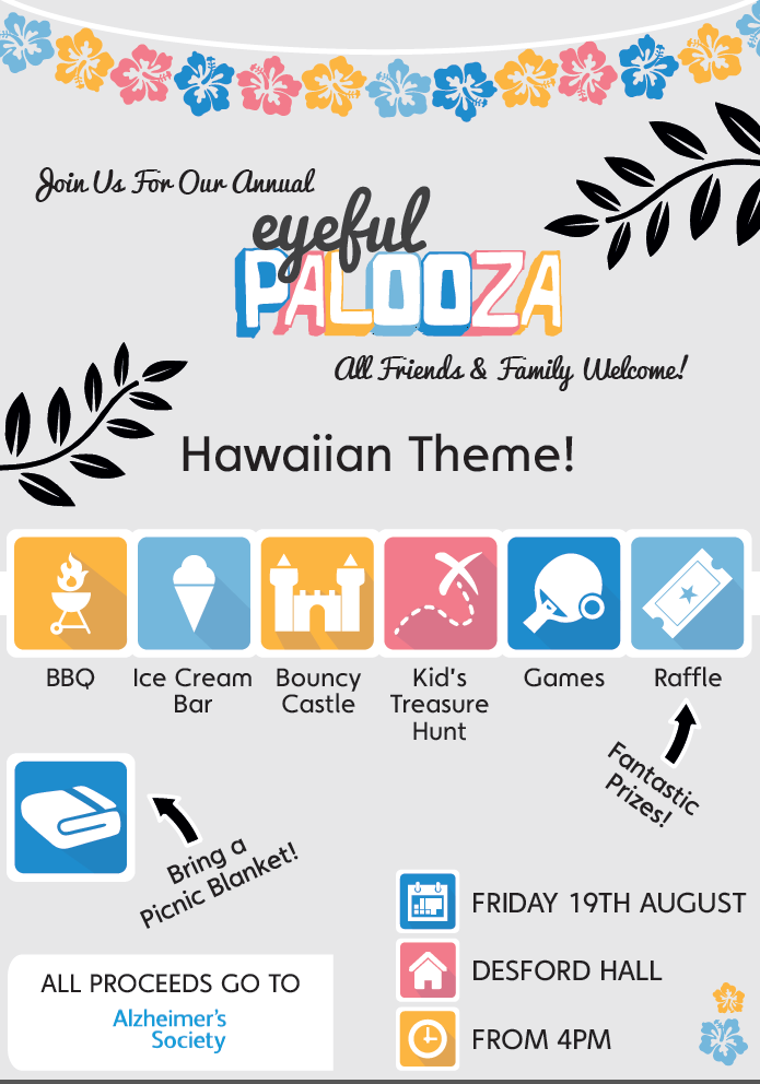 ANNOUNCING: THE 2016 EYEFULPALOOZA