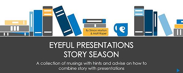 NATIONAL STORYTELLING WEEK: HOW TO BLEND STORY AND PRESENTATION
