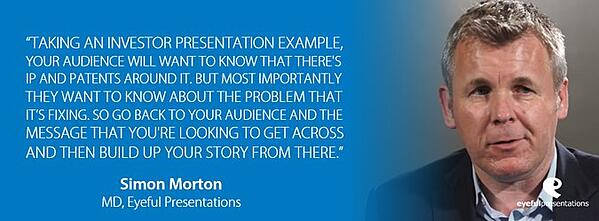 LEARN HOW TO CREATE COMPELLING PRESENTATION CONTENT THAT KEEPS AUDIENCES INTERESTED
