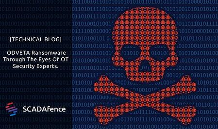[TECHNICAL BLOG]  ODVETA Ransomware Through The Eyes Of OT Security Experts