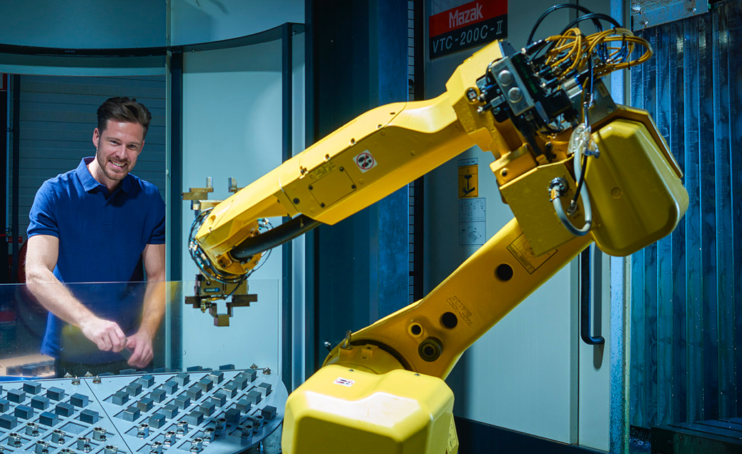 Halter LoadAssistant loading robot cnc automation