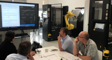 HALTER CNC automation workshop