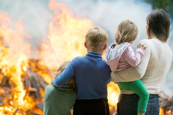16 tips om brand te voorkomen in je woning