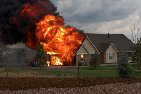 De 10 meest voorkomende oorzaken van een woningbrand
