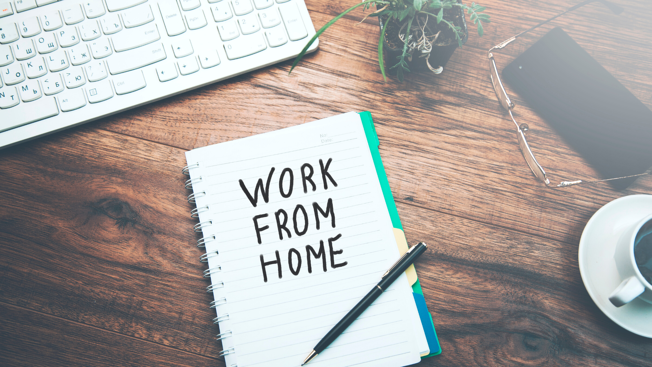 Tips to help create a secure working from home environment