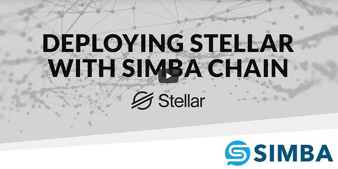 Simple Stellar with SIMBA Chain