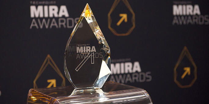 SIMBA Chain Wins New Tech Product of the Year Mira Award
