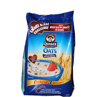 oatmeal in a stand up pouch