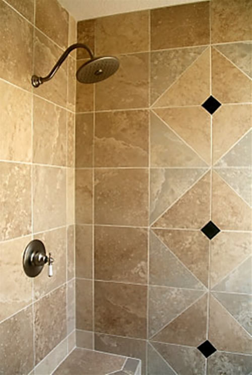 tile bathroom shower stalls