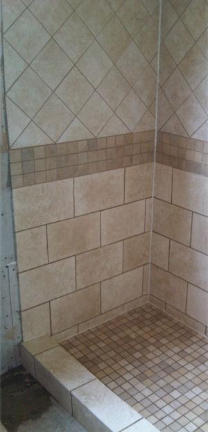 tiled shower gallery