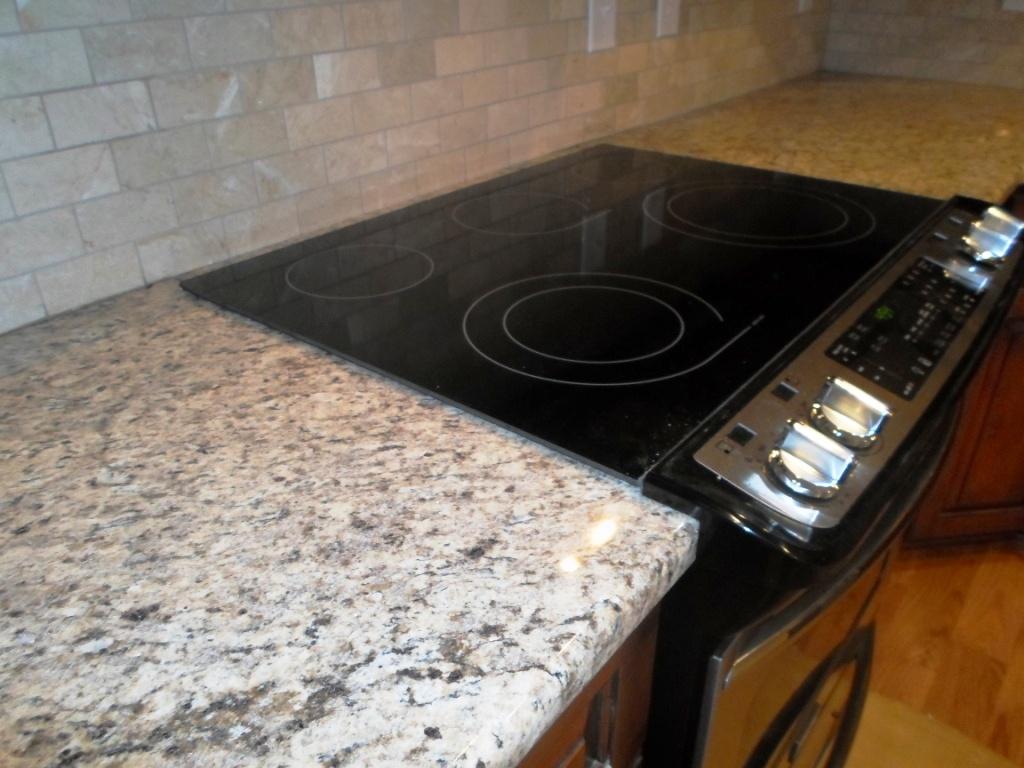 Giallo ornamental dark granite - Giallo Ornamental 12 6 12