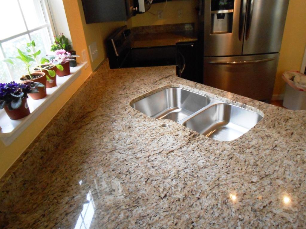 St Cecilia Light Granite Kitchens Giallo Ornamental Granite Charlotte Granite Colors