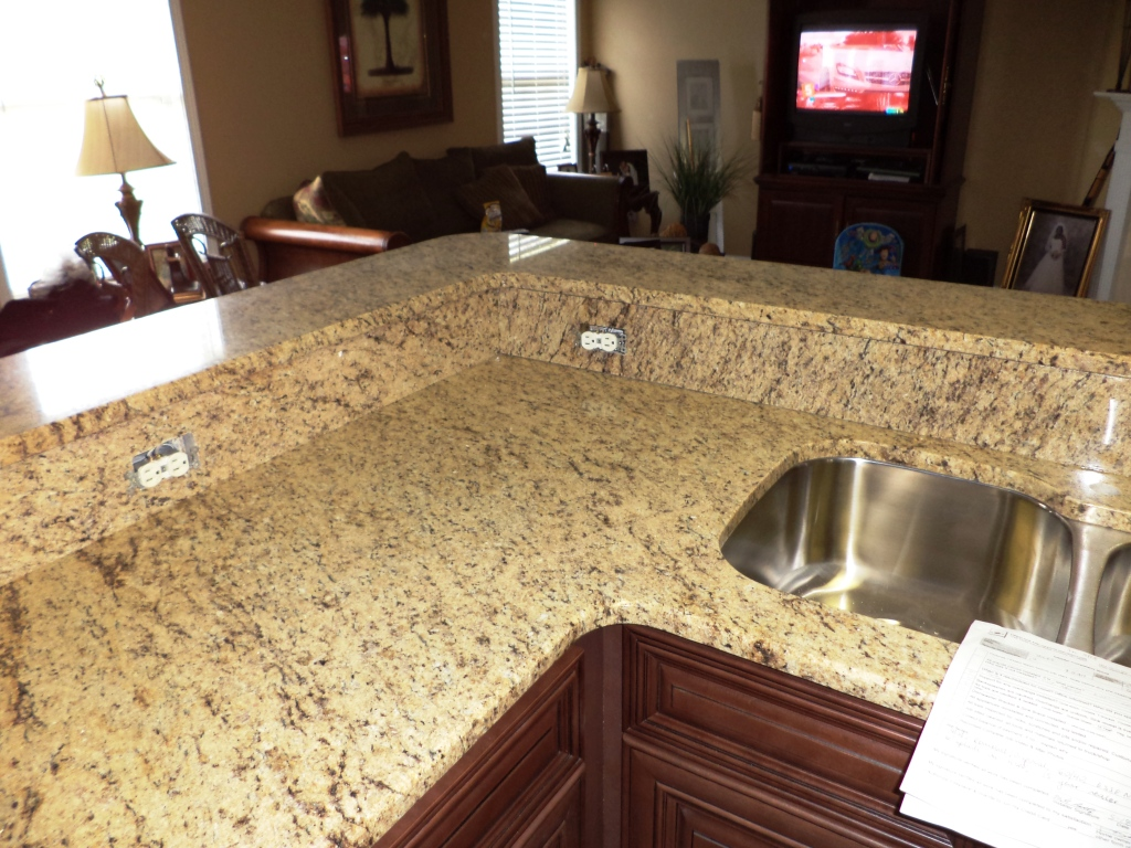 Giallo Ornamental Granite Charlotte Granite Colors