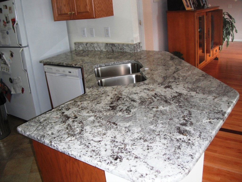 White Granite Countertops : Alaskan white granite countertops charlotte nc