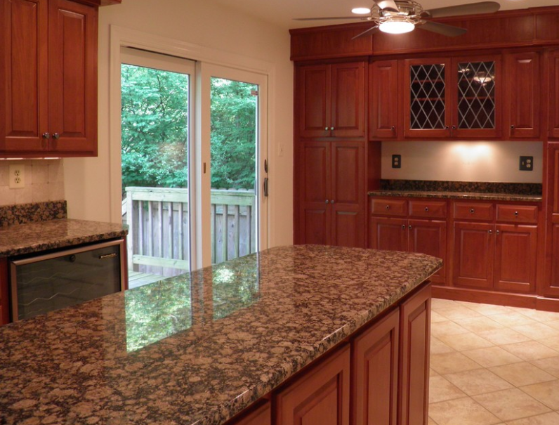 Baltic Brown Granite example.