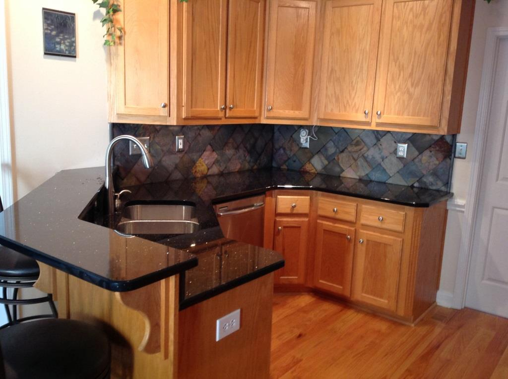 Black Galaxy Granite Charlotte Nc