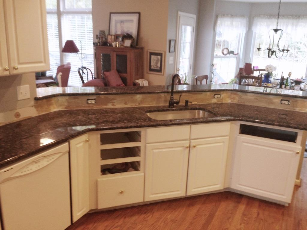 Granite Countertops Colors Tan Brown : sapphire blue granite video fireplace and granite presents blue ...