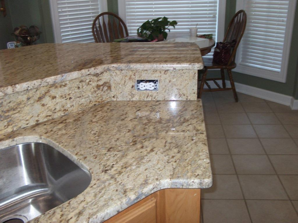 oak cabinets in kitchen colonial gold granite countertops nc 3562
