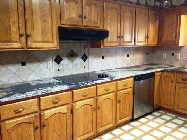 kitchens with tiles golden supreme 3577