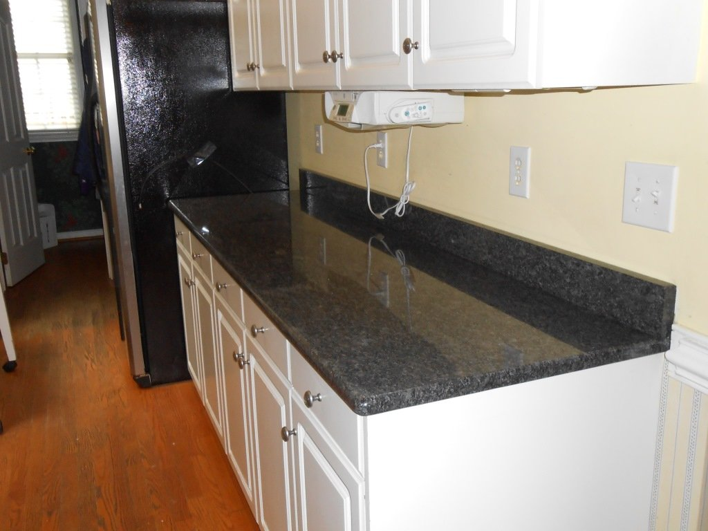 countertop installation project in woodridge granite gray nj steel