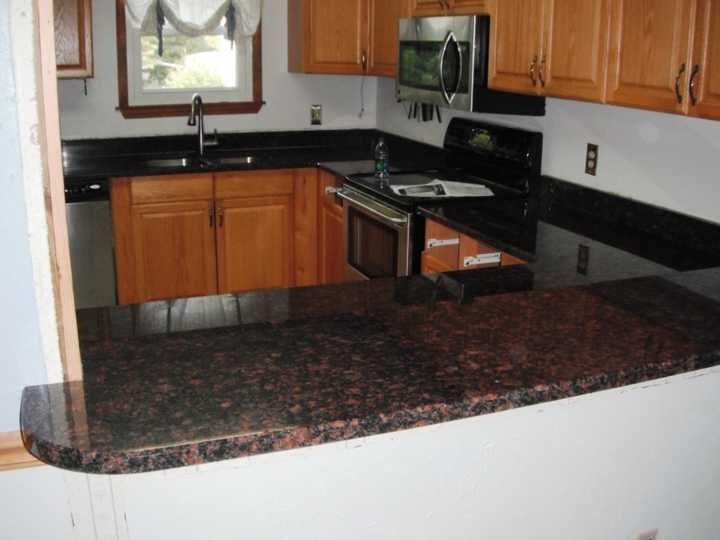 Brown Granite Kitchen Countertops : Granite colors charlotte tan brown